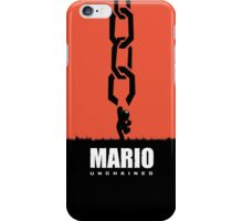 Mario Unchained iPhone Case/Skin