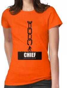 Master Chief Unchained  Womens Fitted T-Shirt