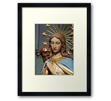 Immaculate Mary Framed Print