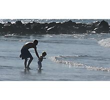 Young Daddies Photographic Print
