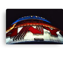 Neon Lights – Leicester Square, London, 1980s Canvas Print