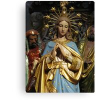 Immaculate Mary Canvas Print