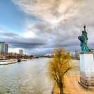 New York on the Seine by Gideon van Zyl