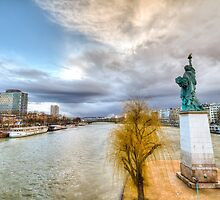 New York on the Seine by Gideon van Zyl