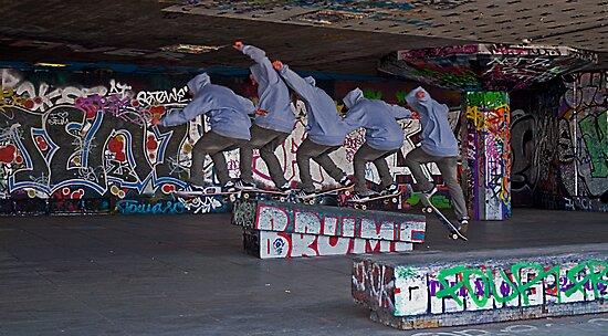 Skateboarder v1 by JMChown