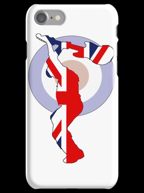 GUITAR SMASH iPHONE - WHITE by whitelash