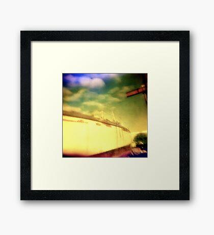 dream boat Framed Print
