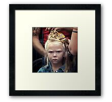 The game of thrones Framed Print