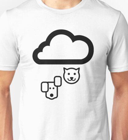Forecast Cats & Dogs Pictogram  Unisex T-Shirt