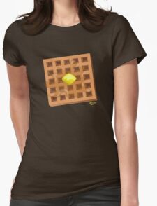 ...and in the Morning, I'm making Waffles! Womens Fitted T-Shirt