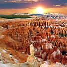 Inspiration Point at Bryce Canyon, Utah by Mitchell Grosky