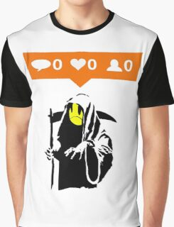 Deaths Social Media Graphic T-Shirt