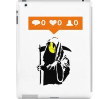 Deaths Social Media iPad Case/Skin