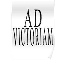 Ad Victoriam (BLK) Poster