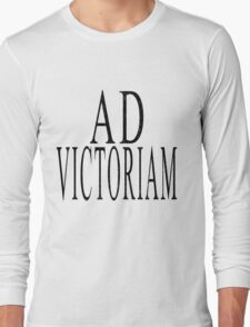 Ad Victoriam (BLK) Long Sleeve T-Shirt