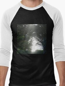 Tree Scene  Men's Baseball ¾ T-Shirt