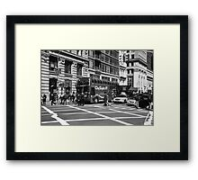 New York Street Photography 8 Framed Print