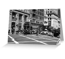 New York Street Photography 8 Greeting Card