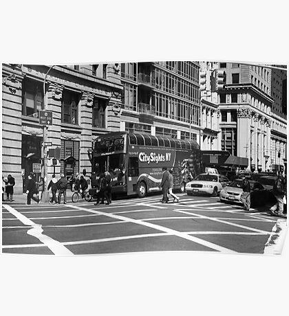 New York Street Photography 8 Poster