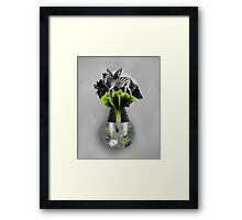 There's ecology in every drop Framed Print