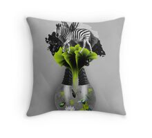 There's ecology in every drop Throw Pillow