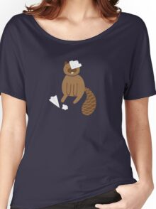 Paper Beaver Women's Relaxed Fit T-Shirt