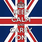 Keep Calm UK by rapplatt