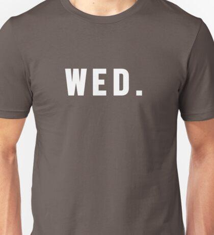 Days of the Week - Wednesday Unisex T-Shirt