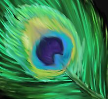 Peacock Eye 1 by OmandOriginal