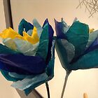 Tulip Blue by Freyart