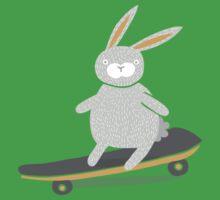 Skater Bunny One Piece - Short Sleeve