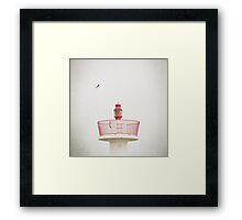 Red Lighthouse Framed Print