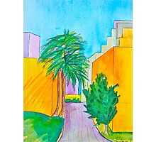 Downtown Los Angels Alleyway Photographic Print