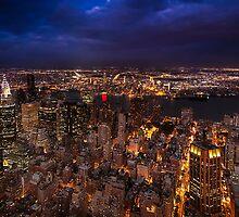 NYC Skyline overlooking East River by Dan Pham
