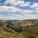 Tortured Landscape, Aliaga, Teruel, Aragon Spain by Andrew Jones
