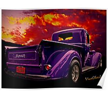 Plymouth Pickup Plum Poster