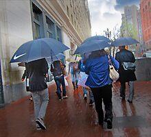 San Francisco in the Rain by David Denny