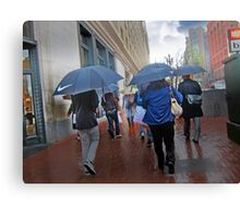 San Francisco in the Rain Canvas Print