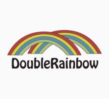 Double Rainbow One Piece - Short Sleeve