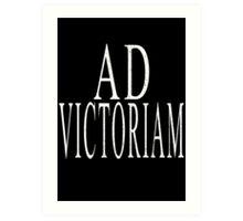 Ad Victoriam (WHT) Art Print