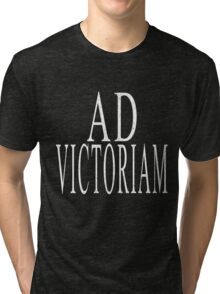 Ad Victoriam (WHT) Tri-blend T-Shirt