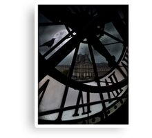 The museum Canvas Print