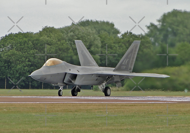 F-22 Raptor by Barrie Woodward