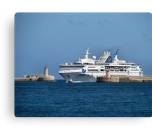 Welcome To Malta Canvas Print
