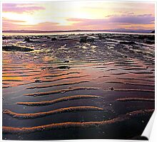 Low Tide At Mill Bay Poster