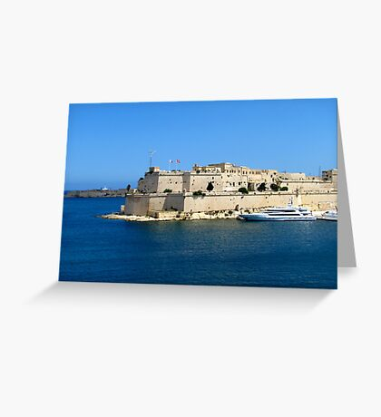 Fort Saint Angelo Greeting Card