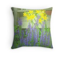 Easter Lupine Throw Pillow