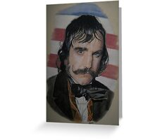 The Butcher( Gangs of New York) Greeting Card