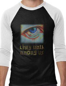 Cyborgs - They Walk Among Us Men's Baseball ¾ T-Shirt