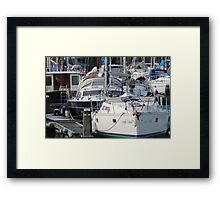 The Recreational Harbor II Framed Print